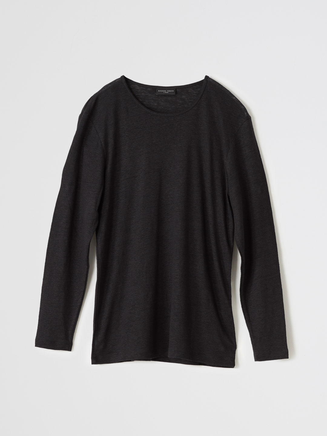 PARLEMENTIA LONG SLEEVE T-shirt - Black