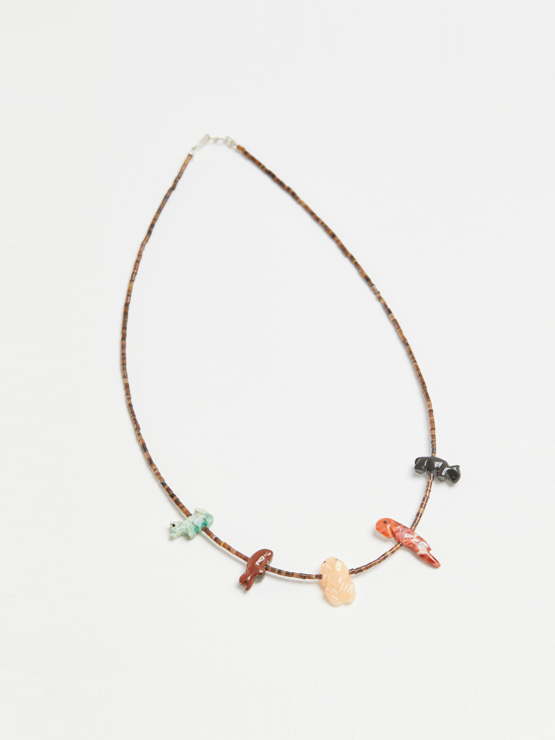 Multi Color Animal Necklace - 49cm