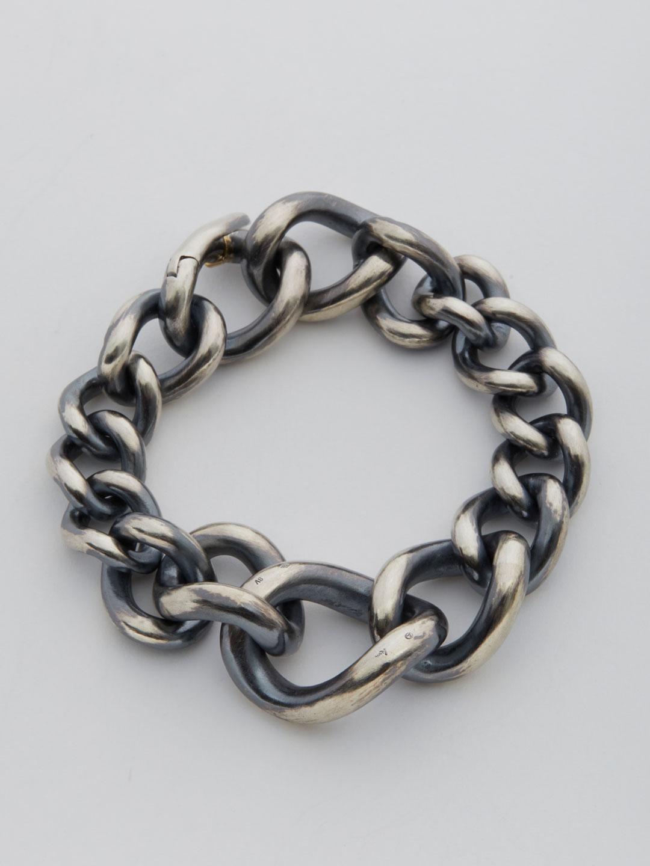 Humete Chain Bracelet 23 - Silver