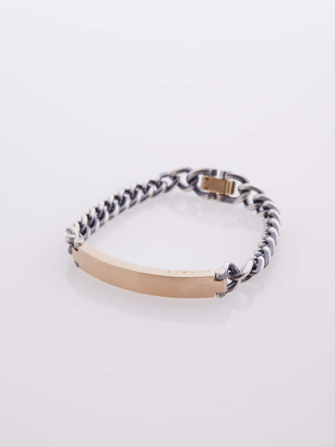 Identity Bracelet / M - Yellow Gold