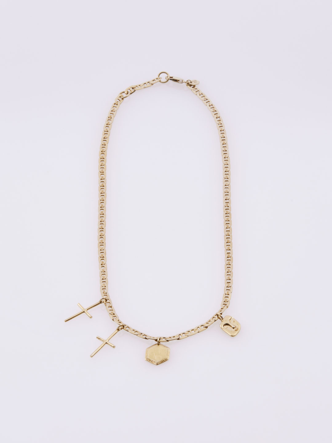 Stories Necklace - Yellow Gold