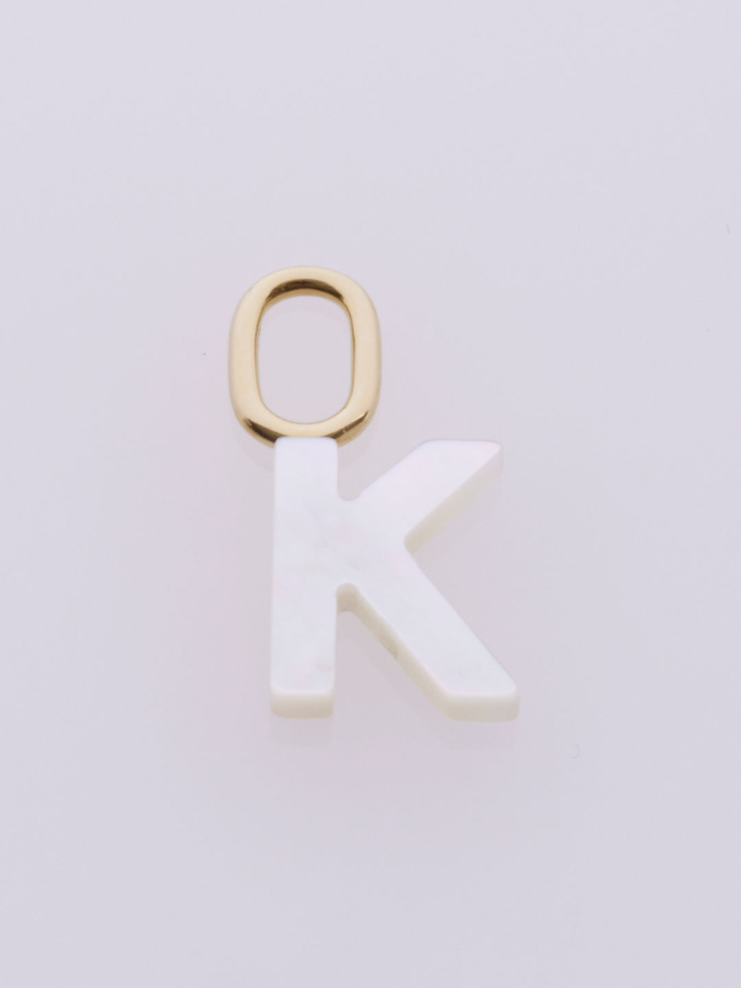 Lucid K Charm   - Yellow Gold