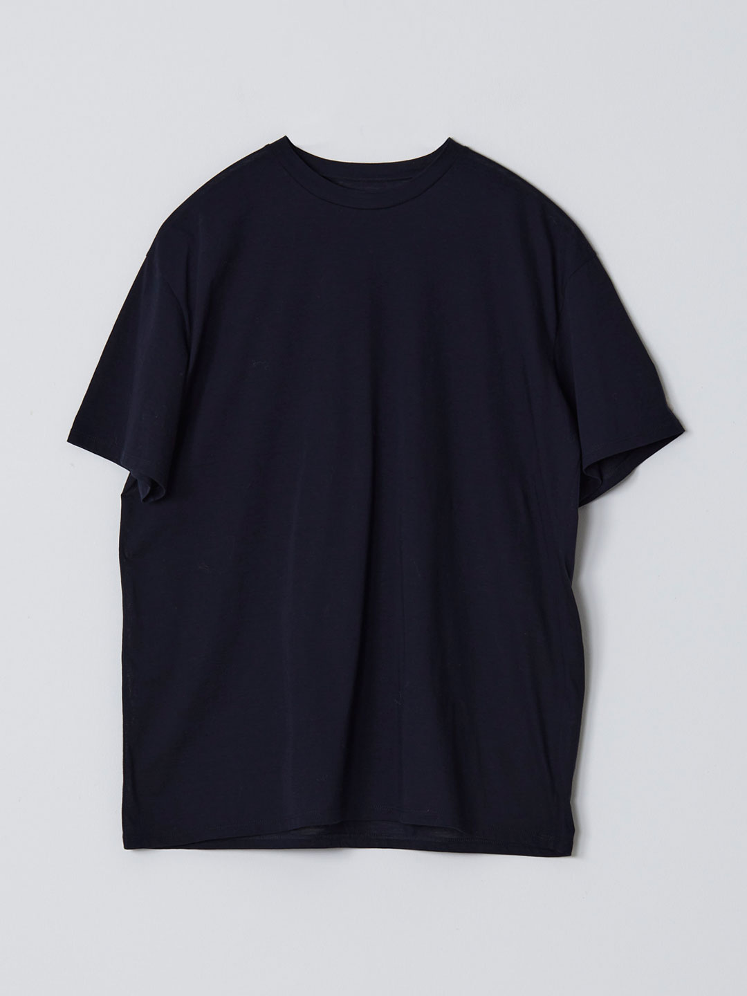 No 0235  High Gauge Cotton Tee - Navy