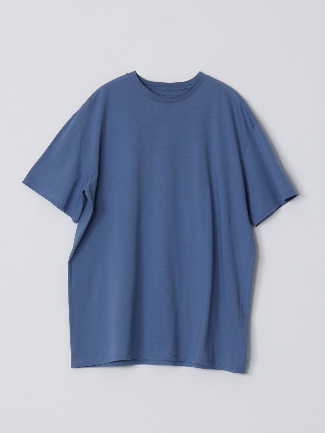 No 0235  High Gauge Cotton Tee - Sax