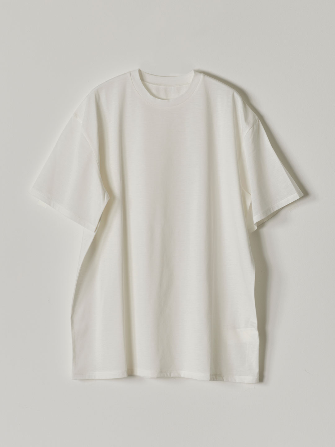 No 0235  High Gauge Cotton Tee - White