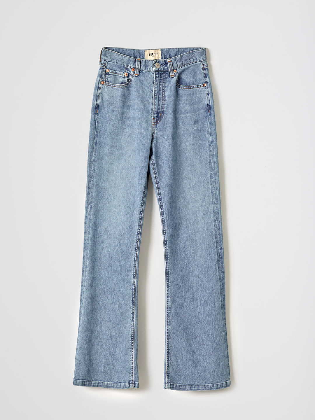 SERGE dodo bleu FLARE PANTS - Light Blue