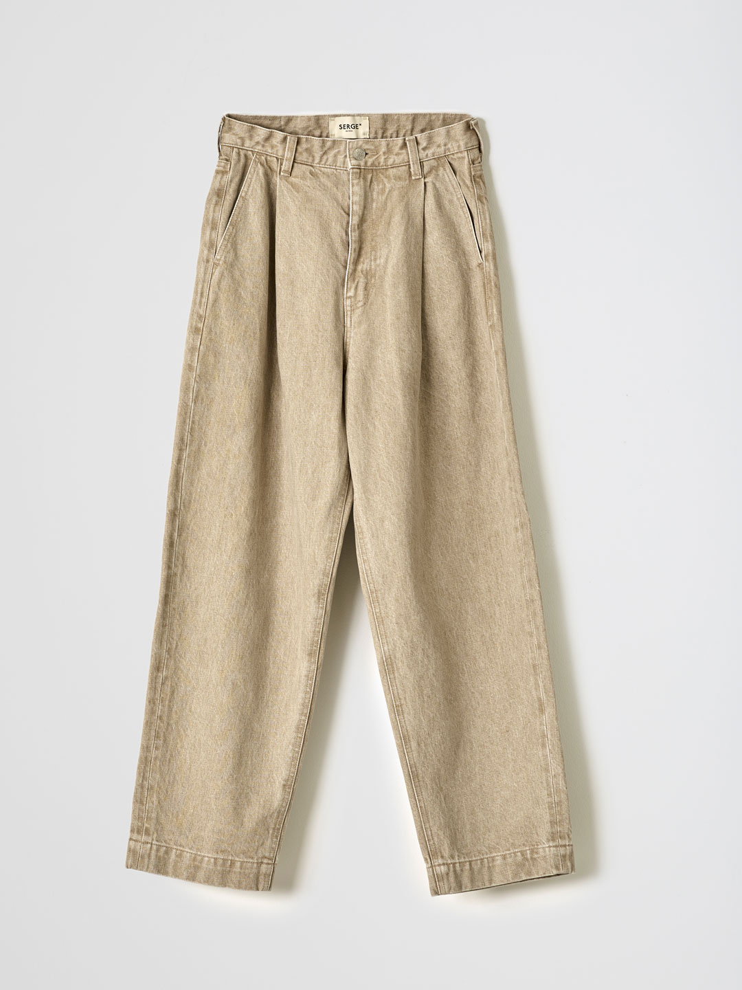 SERGE dodo bleu TACKS PANTS - Beige