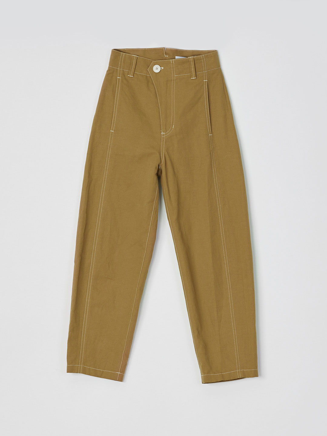 Cocoon Pants  - Camel