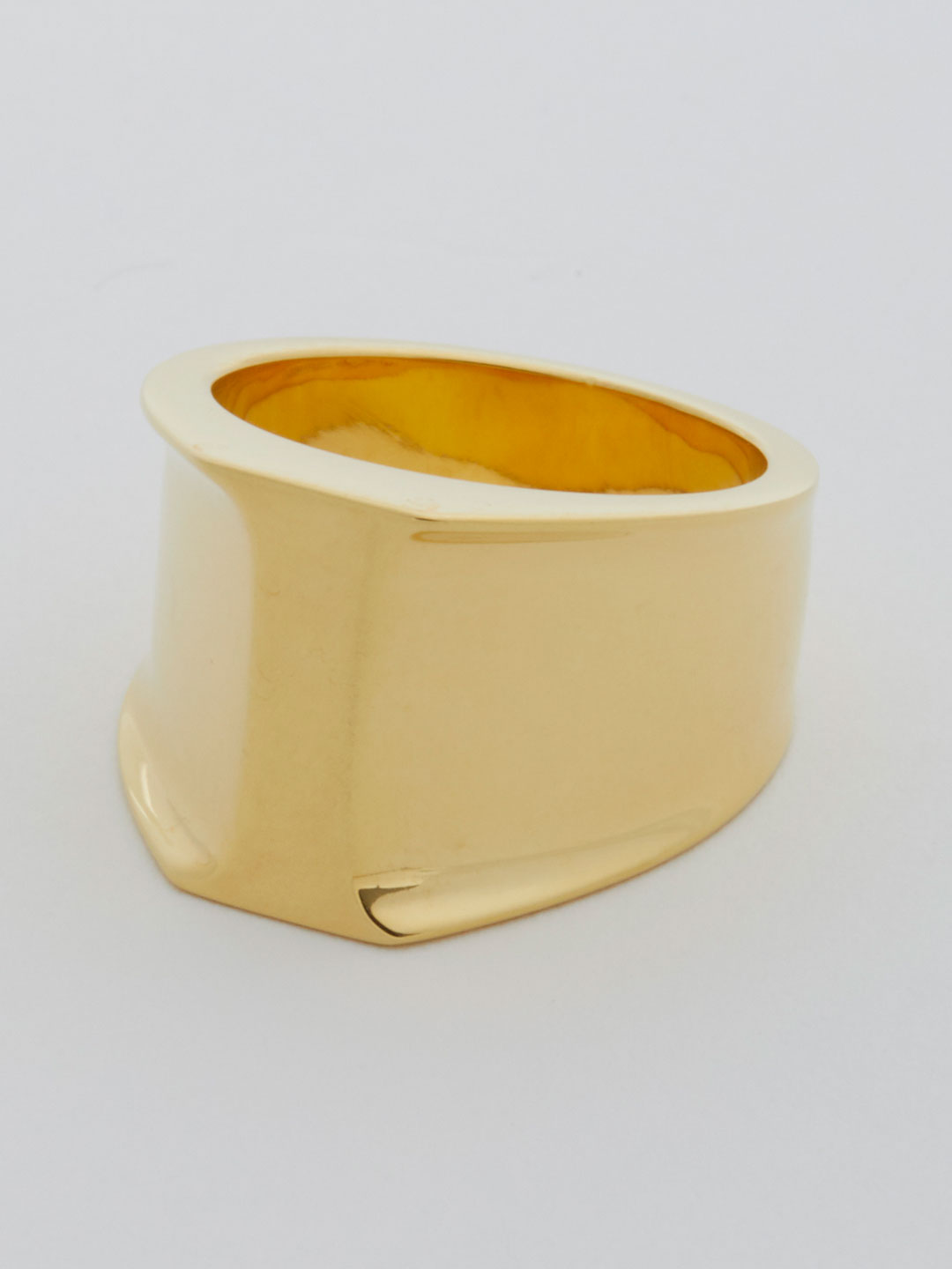 Alphabet Ring I - Gold