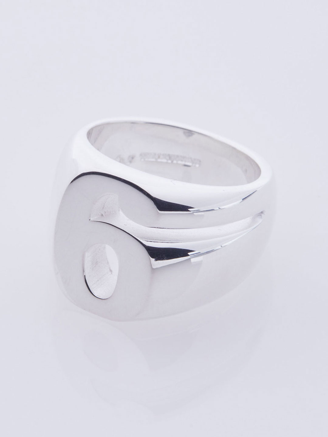 Number Six Ring - Silver