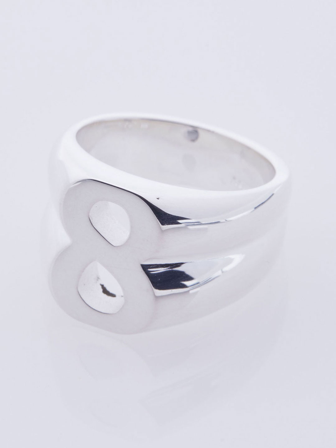 Number Eight Ring - Silver